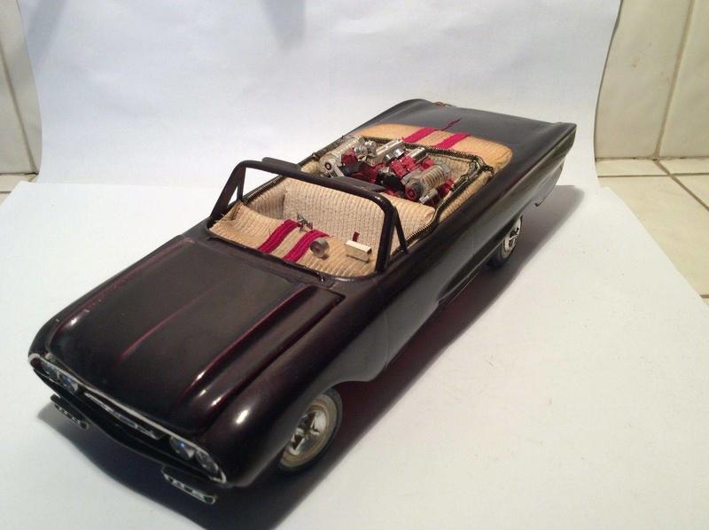 Vintage built automobile model kit survivor - Hot rod et Custom car maquettes montées anciennes - Page 8 17854910