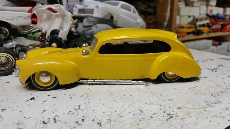 Vintage built automobile model kit survivor - Hot rod et Custom car maquettes montées anciennes - Page 8 17951714