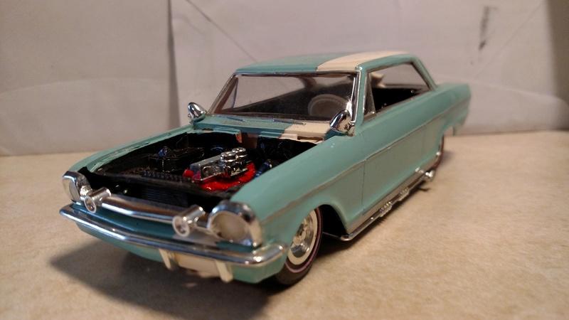 Vintage built automobile model kit survivor - Hot rod et Custom car maquettes montées anciennes - Page 8 17966210
