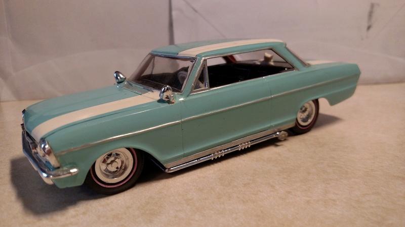 Vintage built automobile model kit survivor - Hot rod et Custom car maquettes montées anciennes - Page 8 17991510