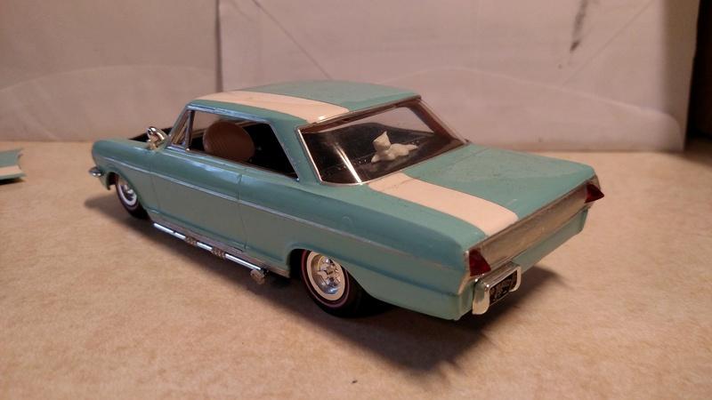 Vintage built automobile model kit survivor - Hot rod et Custom car maquettes montées anciennes - Page 8 18056210