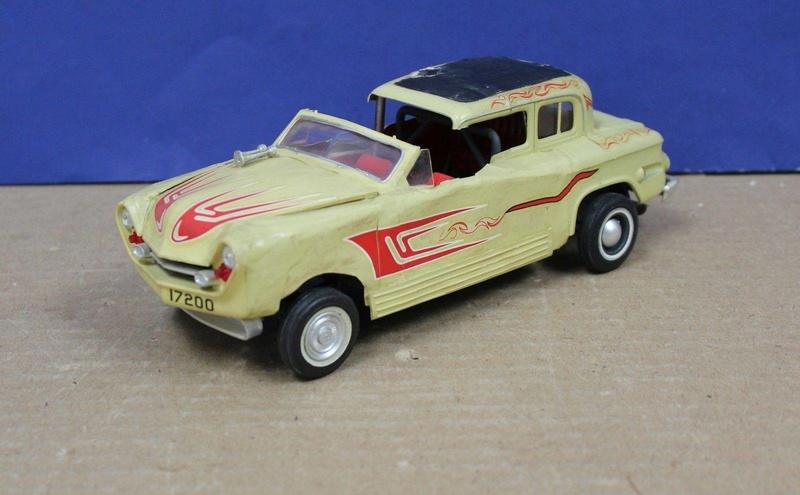 Vintage built automobile model kit survivor - Hot rod et Custom car maquettes montées anciennes - Page 8 18121010