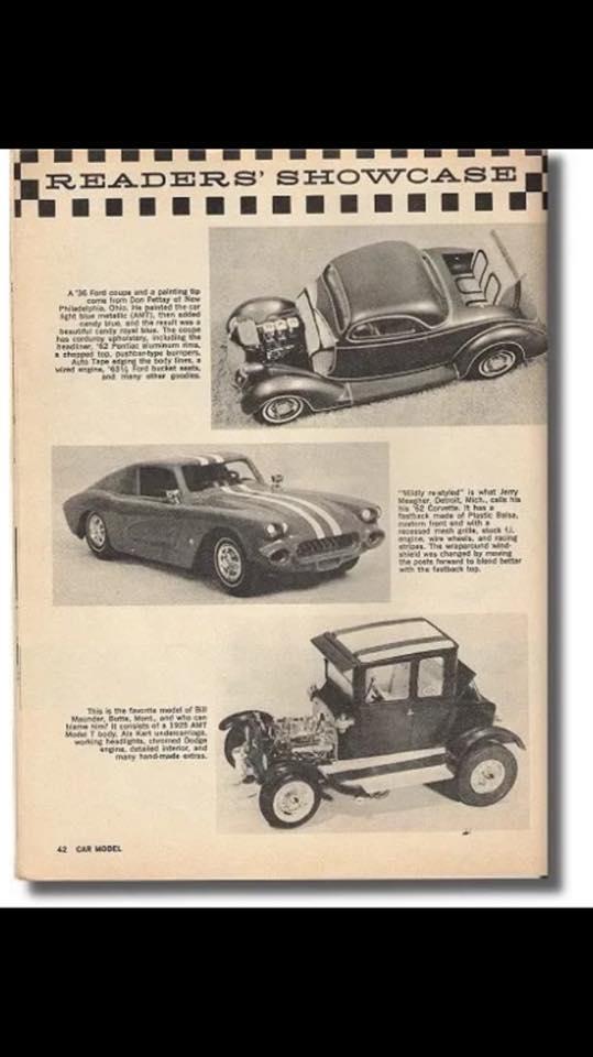 Vintage built automobile model kit survivor - Hot rod et Custom car maquettes montées anciennes - Page 9 18221910