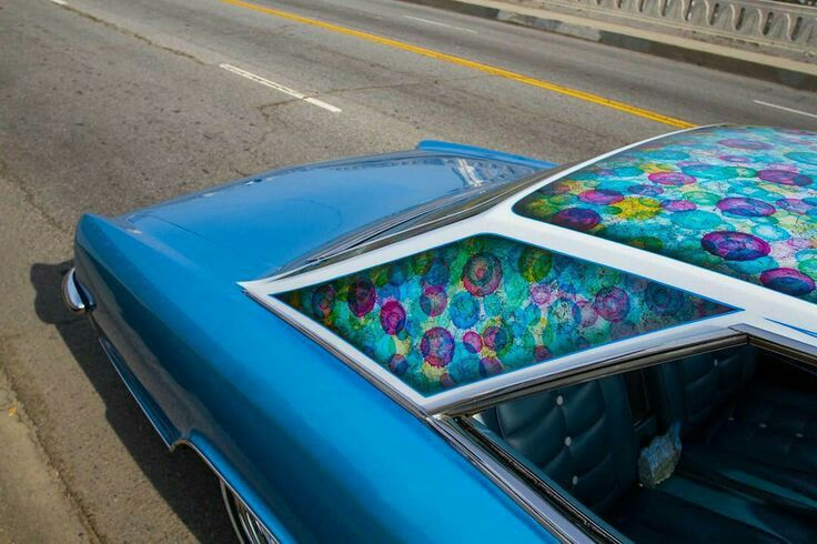 auto's crazy paint - peinture de fou sur carrosseries 18268010