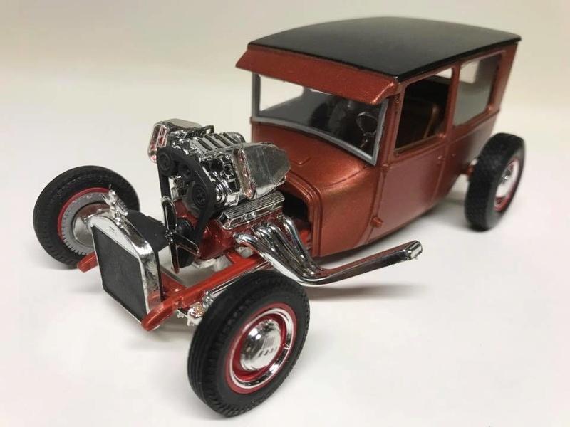 Vintage built automobile model kit survivor - Hot rod et Custom car maquettes montées anciennes - Page 9 18342511