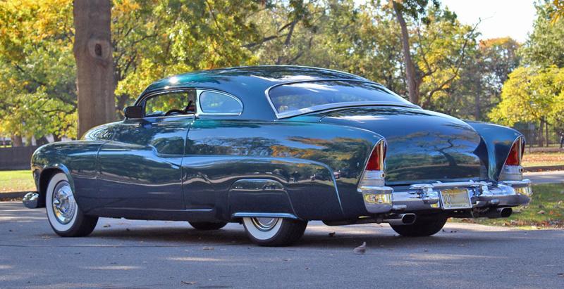 1951 Mercury Custom Coupe - Emerald Jewel - Don Blake 222