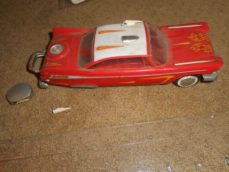 Vintage built automobile model kit survivor - Hot rod et Custom car maquettes montées anciennes - Page 9 2416