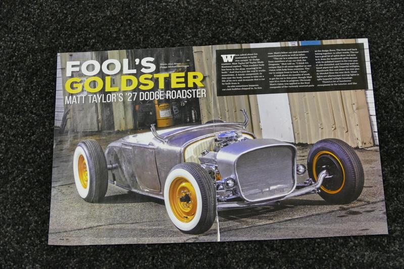 Fool's Goldster -Taylor Made - 1927 Dodge Roadster 31971511