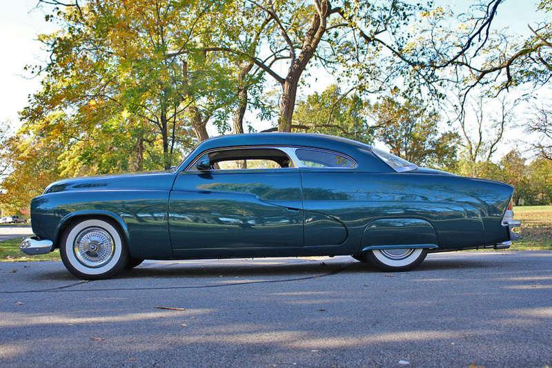 1951 Mercury Custom Coupe - Emerald Jewel - Don Blake 322