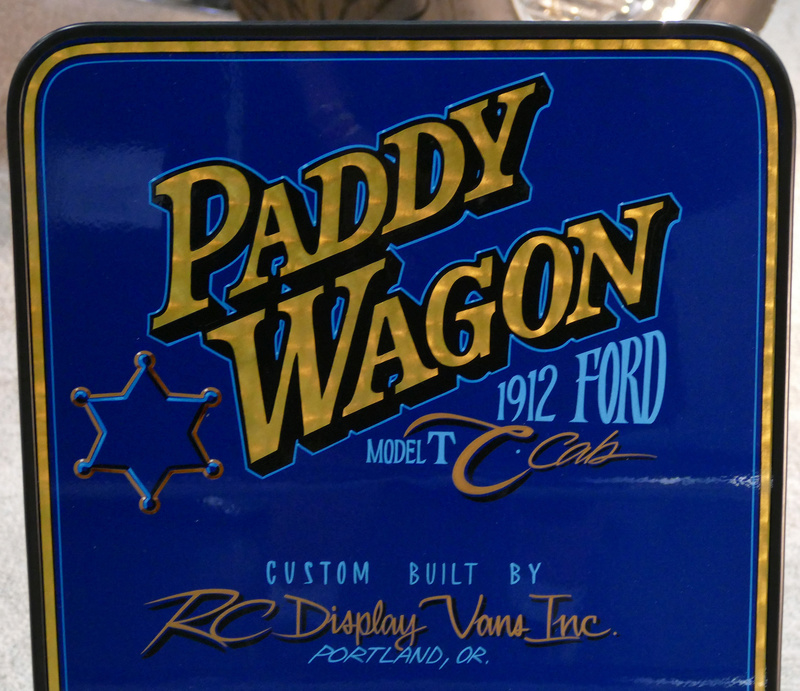 Paddy Wagon - 1912 Ford Model T C cab - Rc Display Van inc - Tom Daniel's  32892111