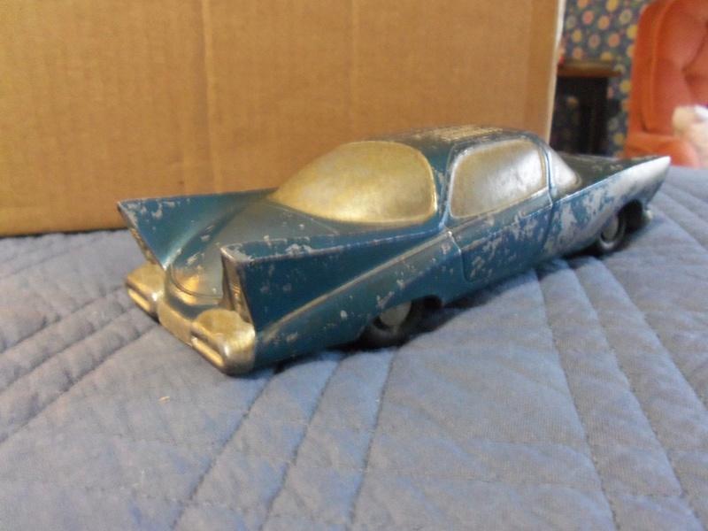 mid-'50s Expereimental Concept Car - Vintage Banthrico Promo bank 329