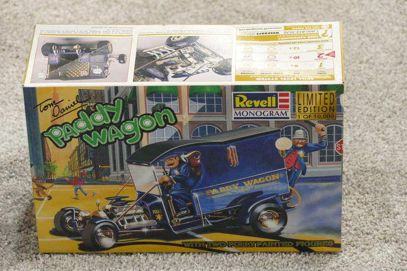 Paddy Wagon - 1912 Ford Model T C cab - Rc Display Van inc - Tom Daniel's  33576610