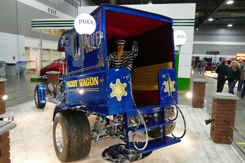 Paddy Wagon - 1912 Ford Model T C cab - Rc Display Van inc - Tom Daniel's  33664710