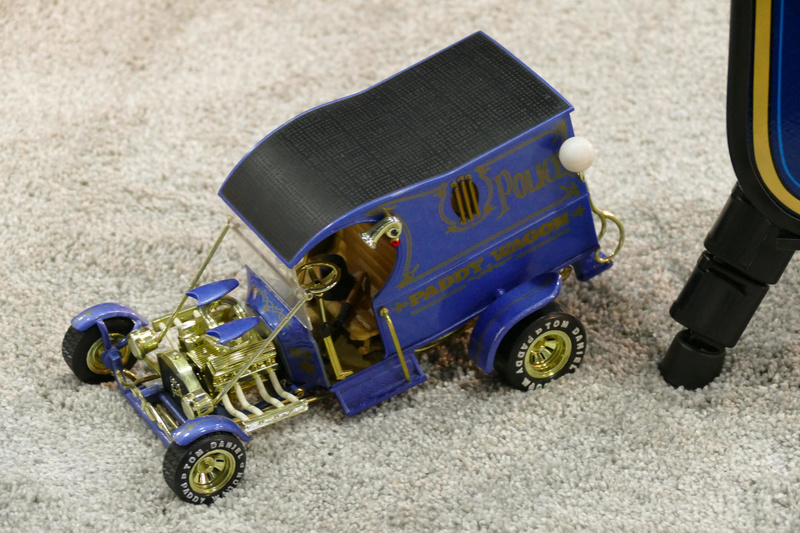 Paddy Wagon - 1912 Ford Model T C cab - Rc Display Van inc - Tom Daniel's  33705712
