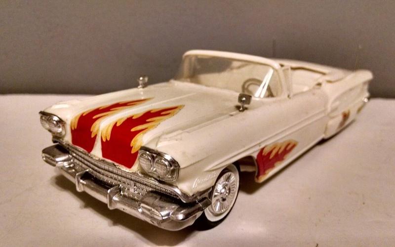 Vintage built automobile model kit survivor - Hot rod et Custom car maquettes montées anciennes - Page 9 3910