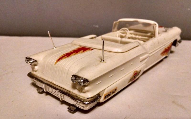 Vintage built automobile model kit survivor - Hot rod et Custom car maquettes montées anciennes - Page 9 4010