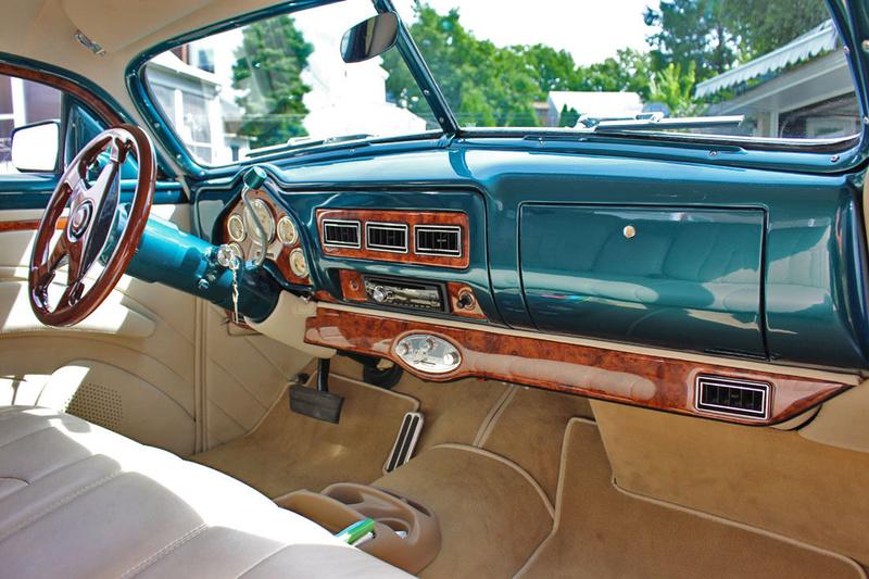 1951 Mercury Custom Coupe - Emerald Jewel - Don Blake 524