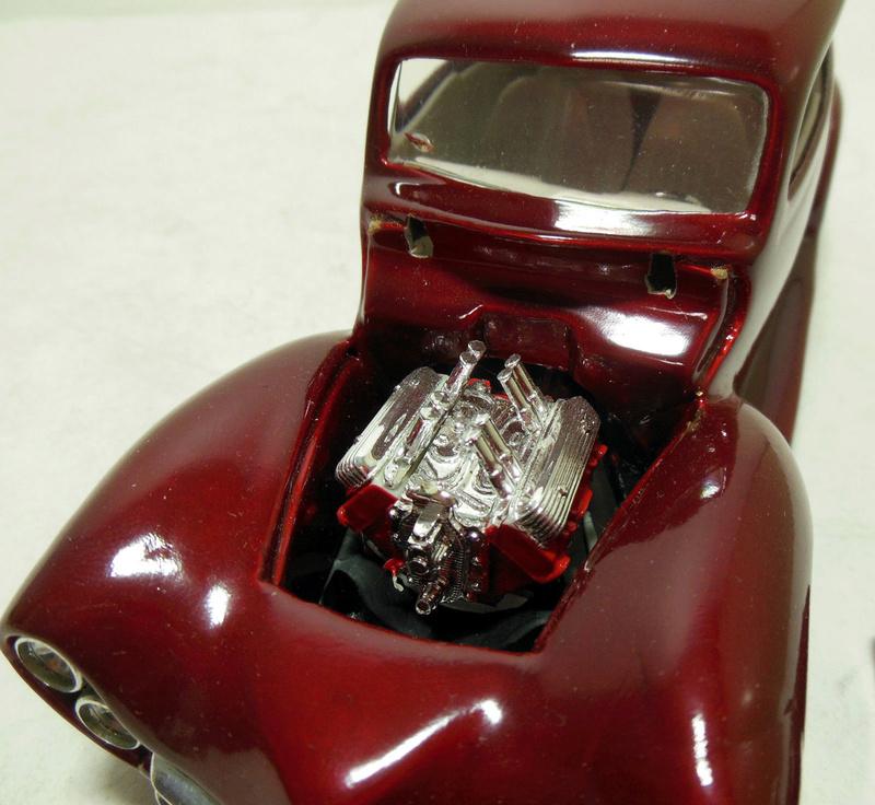 Vintage built automobile model kit survivor - Hot rod et Custom car maquettes montées anciennes - Page 9 536