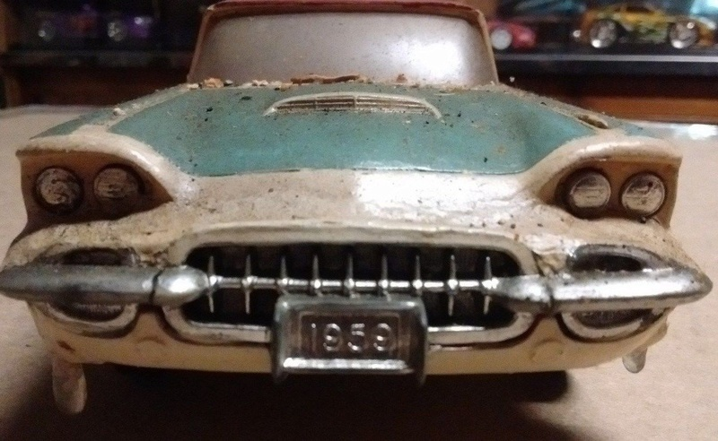 Vintage built automobile model kit survivor - Hot rod et Custom car maquettes montées anciennes - Page 9 5610