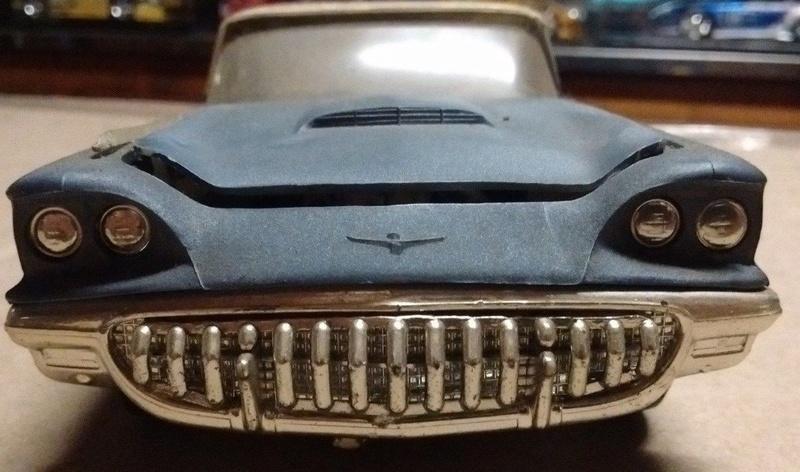 Vintage built automobile model kit survivor - Hot rod et Custom car maquettes montées anciennes - Page 9 5710