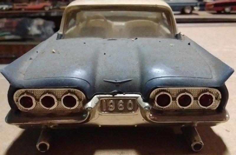 Vintage built automobile model kit survivor - Hot rod et Custom car maquettes montées anciennes - Page 9 5910