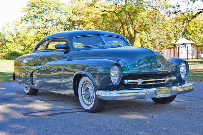 1951 Mercury Custom Coupe - Emerald Jewel - Don Blake 623