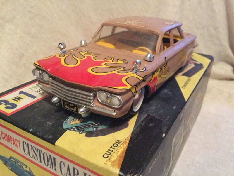 Vintage built automobile model kit survivor - Hot rod et Custom car maquettes montées anciennes - Page 9 6410