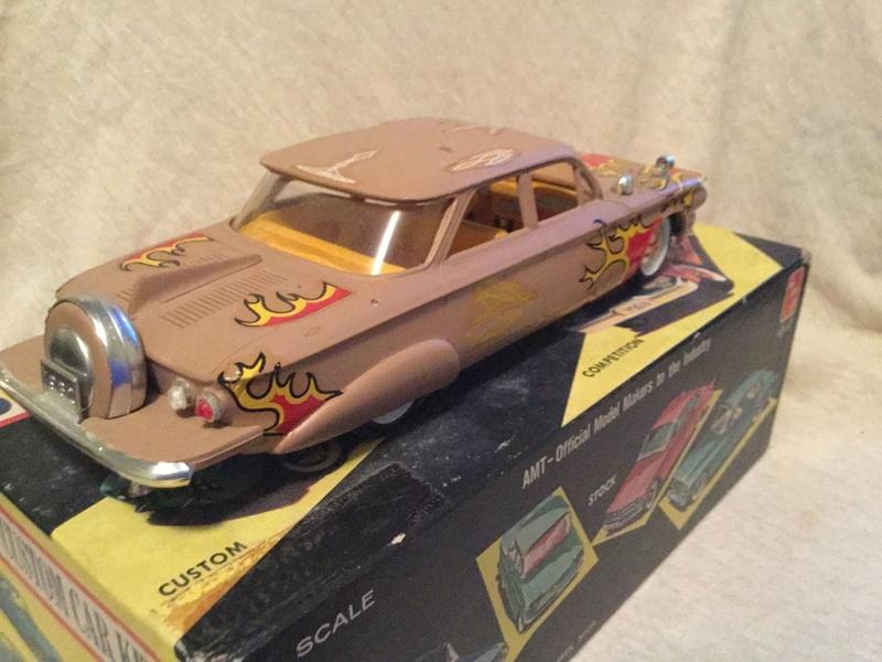 Vintage built automobile model kit survivor - Hot rod et Custom car maquettes montées anciennes - Page 9 6510