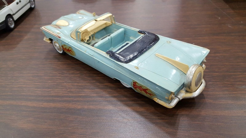 Vintage built automobile model kit survivor - Hot rod et Custom car maquettes montées anciennes - Page 9 6610