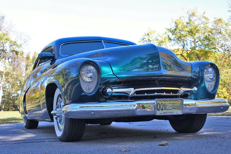1951 Mercury Custom Coupe - Emerald Jewel - Don Blake 723