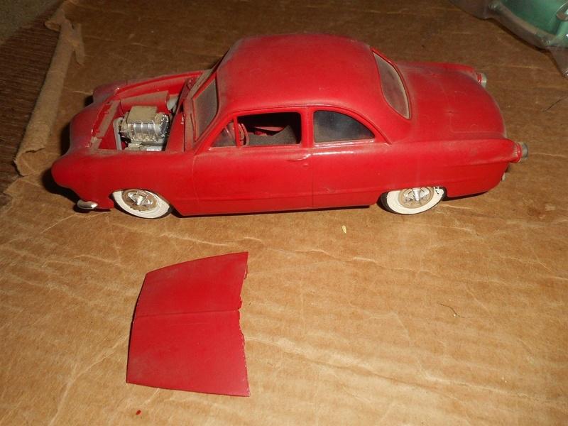 Vintage built automobile model kit survivor - Hot rod et Custom car maquettes montées anciennes - Page 8 725