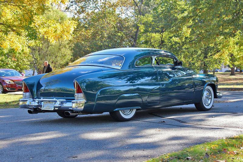 1951 Mercury Custom Coupe - Emerald Jewel - Don Blake 823