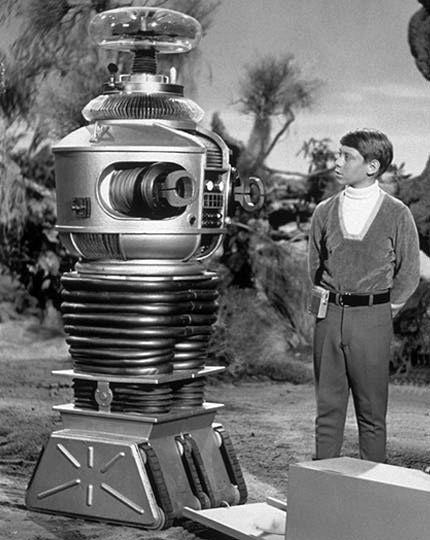 Futuristic & Atomic Robot - Robots futuristes & rétro 8b764910