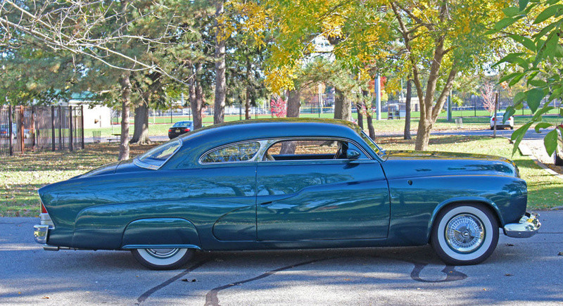 1951 Mercury Custom Coupe - Emerald Jewel - Don Blake 922