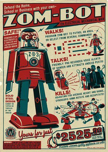 Futuristic & Atomic Robot - Robots futuristes & rétro Aca1ca10