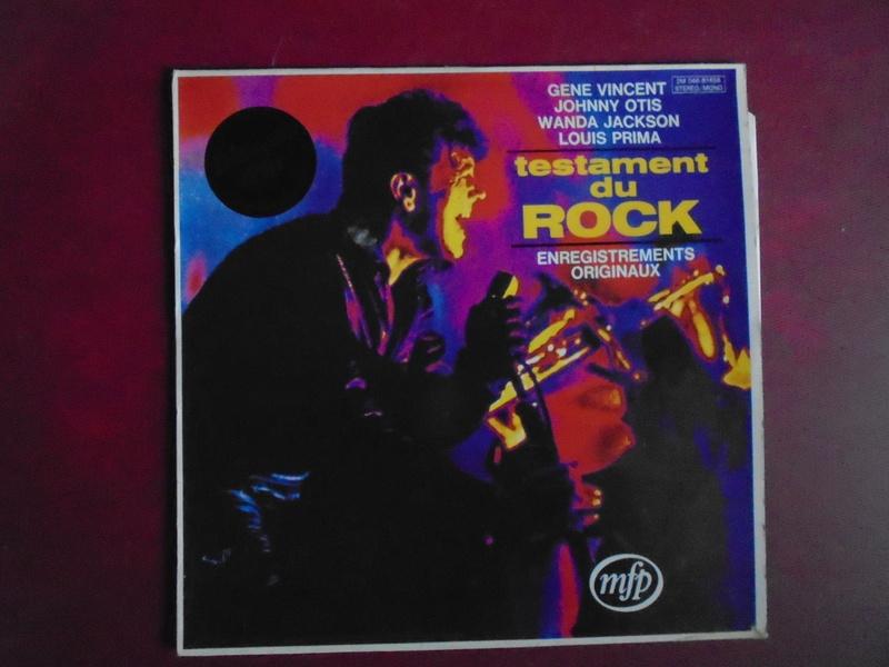 Testaments du Rock - Capitol records / MFP - Gene Vincent , Wanda Jackson, Johnny Otis , Louis Prima... Dsc06610