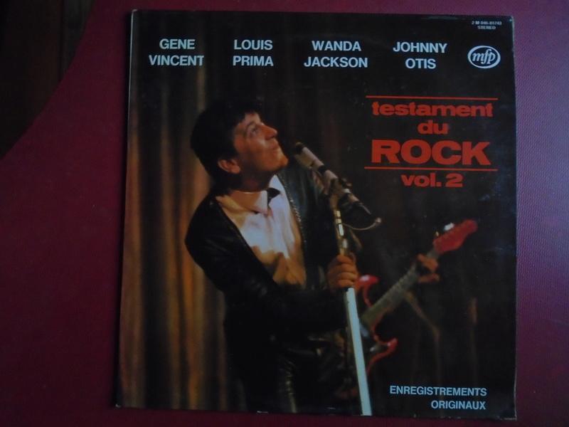 Testaments du Rock - Capitol records / MFP - Gene Vincent , Wanda Jackson, Johnny Otis , Louis Prima... Dsc06622