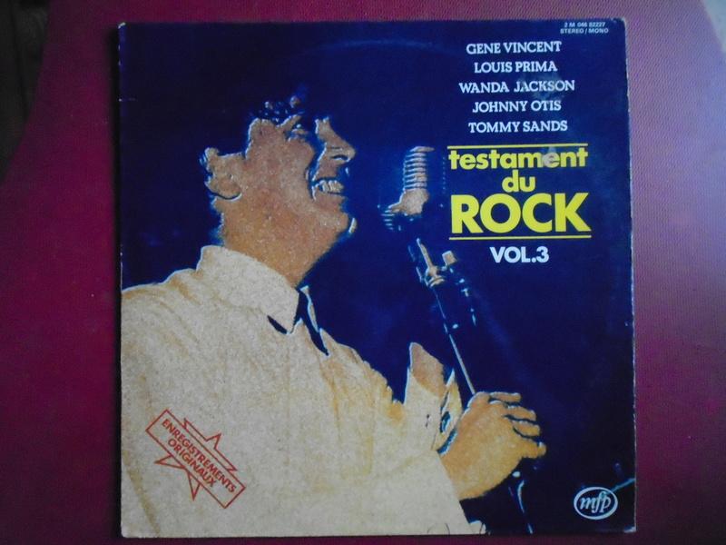 Testaments du Rock - Capitol records / MFP - Gene Vincent , Wanda Jackson, Johnny Otis , Louis Prima... Dsc06623