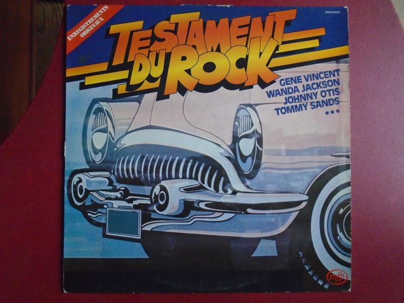 Testaments du Rock - Capitol records / MFP - Gene Vincent , Wanda Jackson, Johnny Otis , Louis Prima... Dsc06624