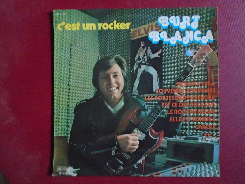 Burt Blanca and the King Creole's lp 33 tours Dsc06625