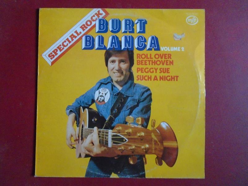 Burt Blanca and the King Creole's lp 33 tours Dsc06627