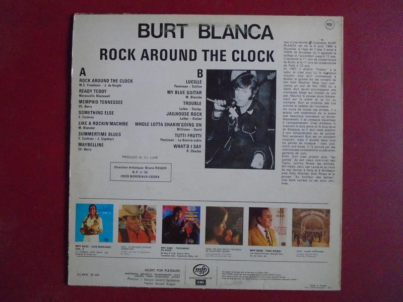 Burt Blanca and the King Creole's lp 33 tours Dsc06630