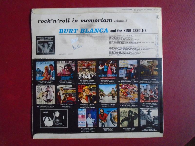 Burt Blanca and the King Creole's lp 33 tours Dsc06637