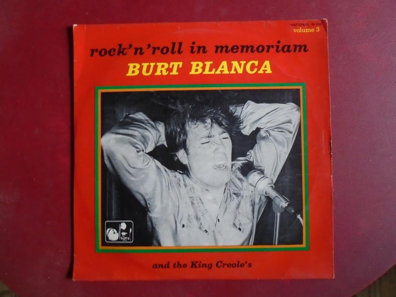 Burt Blanca and the King Creole's lp 33 tours Dsc06638