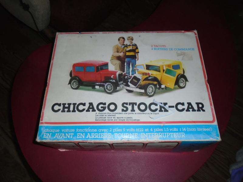 Chicago Stock car - RC Ford A hot rod (radiocammendés ford 1930 plastique 1/18) Dsc06712