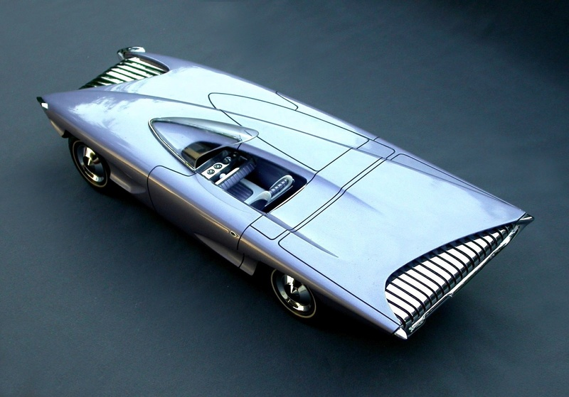 Ron Will's 1961 Fisher Body Craftsman's Guild Winning Model First-10