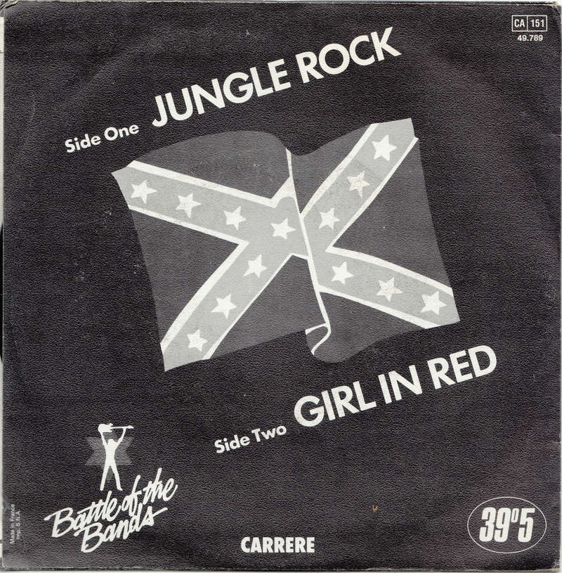 Shakin' Stevens and the Sunsets - Jungle rock / Girl in Red - Carrere 39°5 Shakin12
