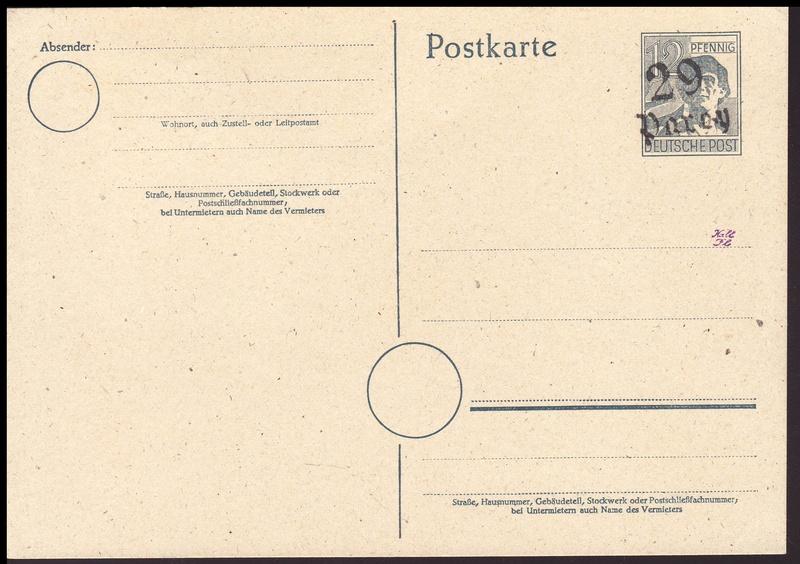 Allgemeine Ausgaben der Sowjetischen Besatzungszone - Seite 3 P23vi10