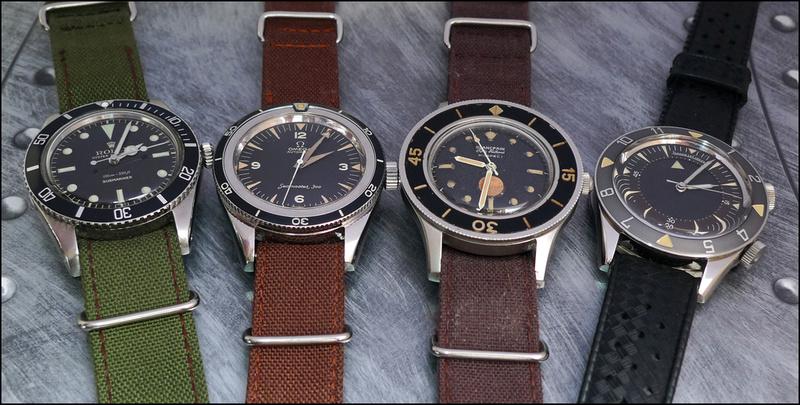 La famille des Breitling SuperOcean Acclim10