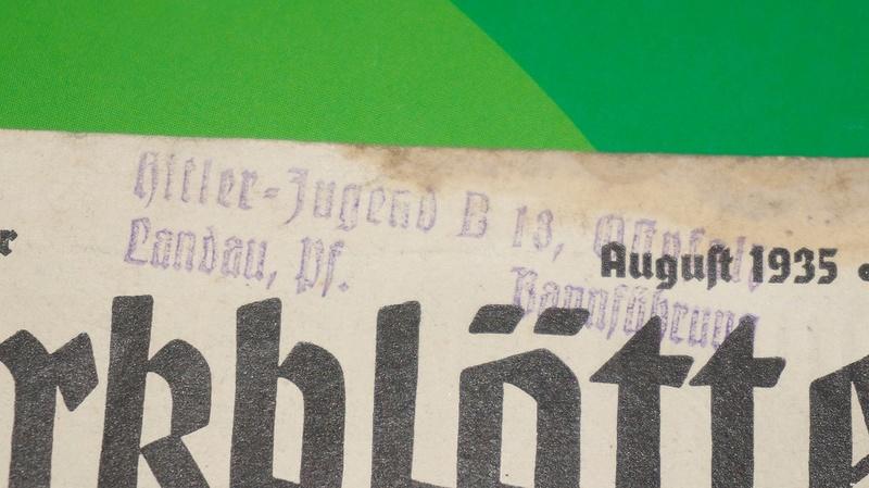 Livret HJ et tract luftschutz Dsc02923